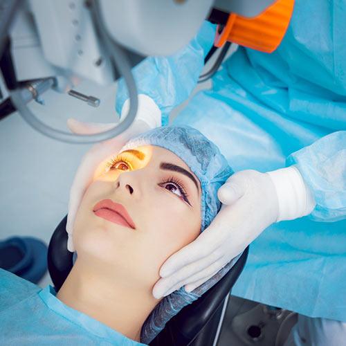 Chirurgia laser dei difetti visivi
